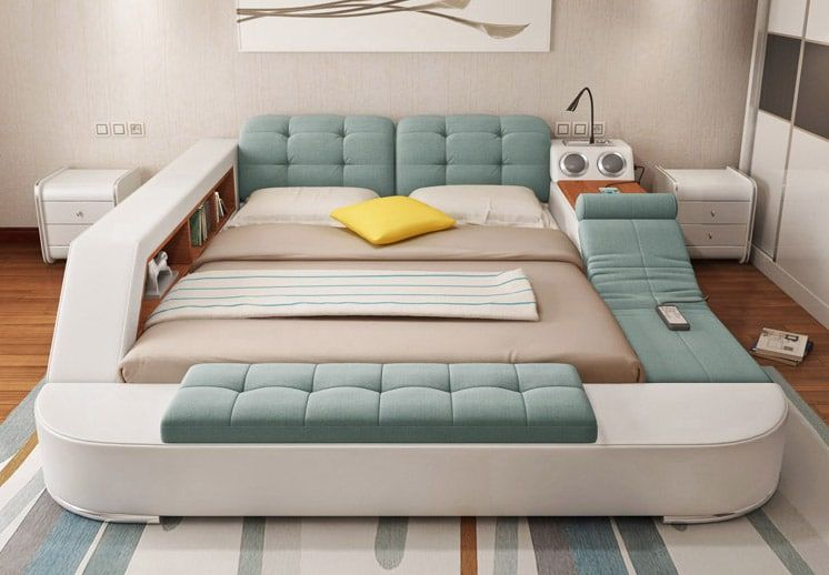 This Insanely Super Functional Bed Is One Place You Ll Never Want
