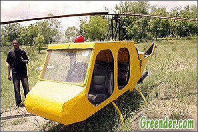Как собрать свой вертолёт из хлама