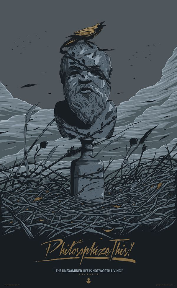 Socrates Poster on Behance | Behance Art from Around the World ...