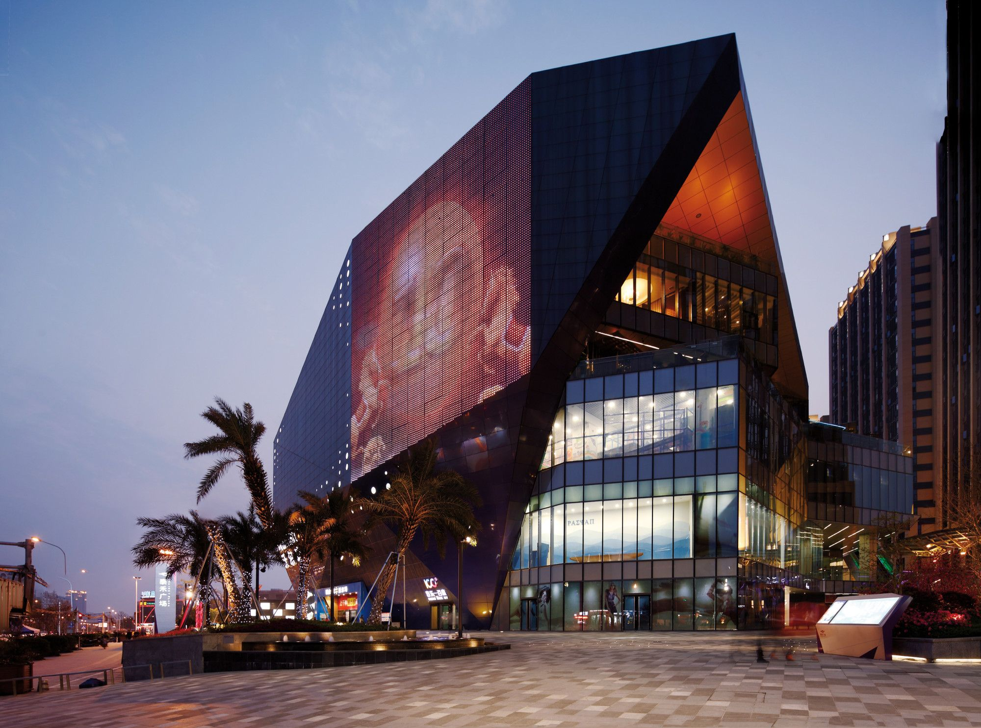 Gallery Of Fuzhou Wusibei Thaihot Plaza Spark Architects  20