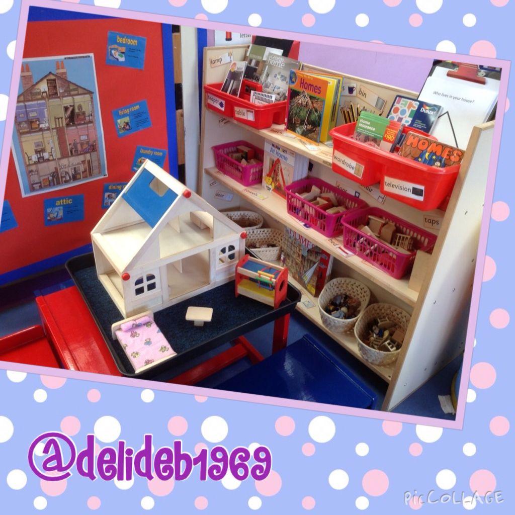Small world dolls house Class displays, Display board