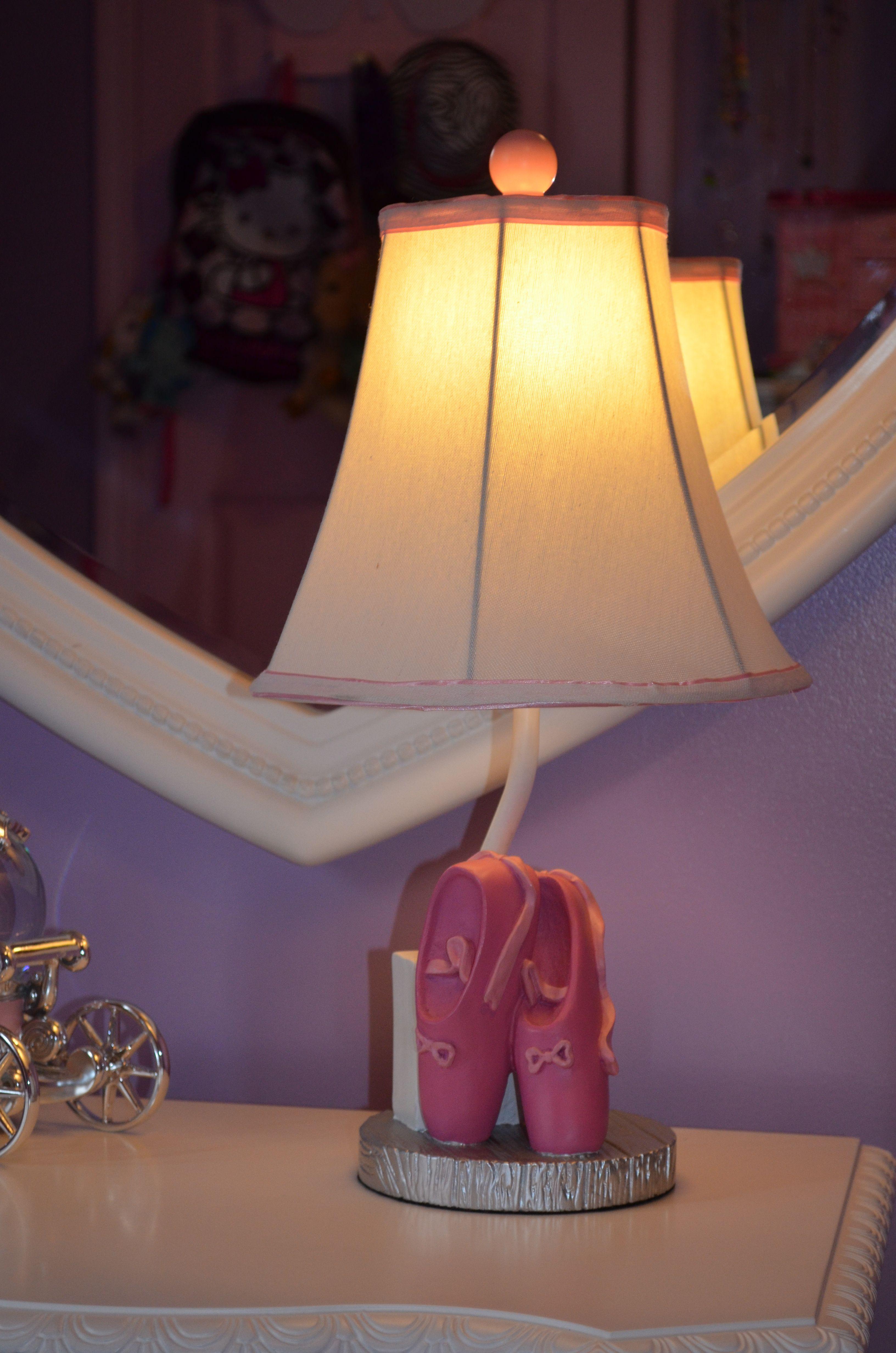 Resin Ballerina Lamp