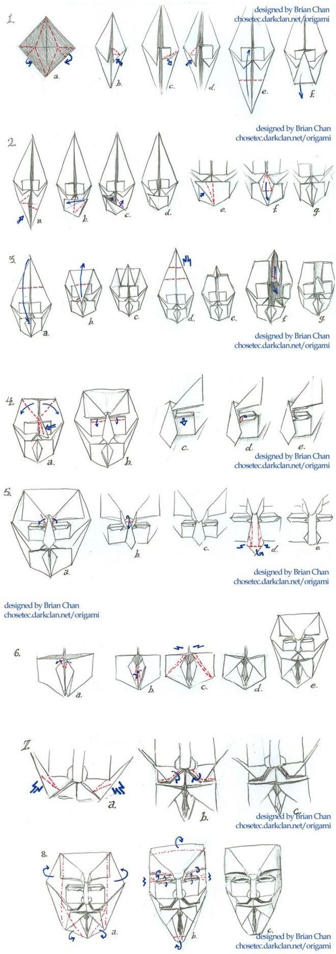 origami v per vendetta