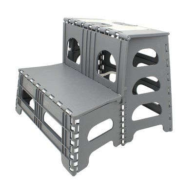 Wondrous Wfx Utility Hailey 2 Step Plastic Step Stool With 300 Lb Pabps2019 Chair Design Images Pabps2019Com