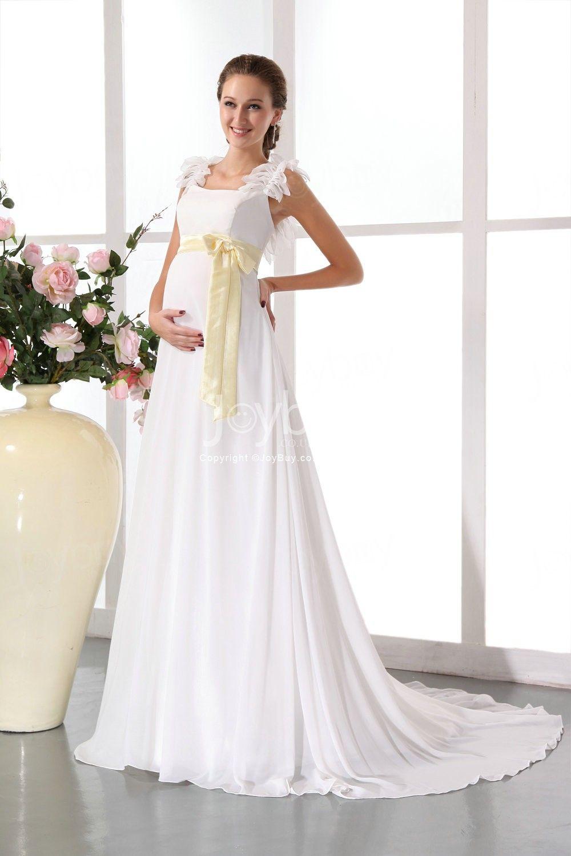 Pregnancy wedding dress vestidos de novia para embarazadas tips stylish a line straps elegant maternity high quality wedding dress ombrellifo Image collections