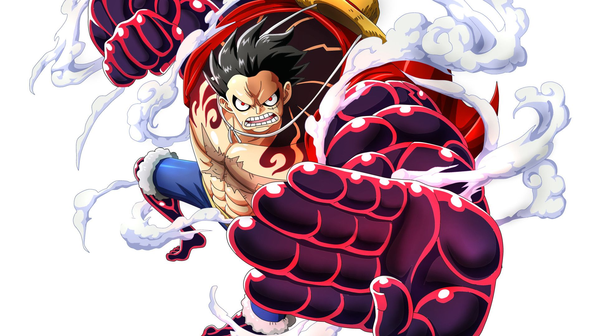One Piece Luffy Hd Wallpaper 1920x1080 1920x1080 Monkey D Luffy One Piece Laptop Full Hd 1080p Hd One Piece Luf In 2020 One Piece Luffy Luffy Gear 4 One Piece Gear 4