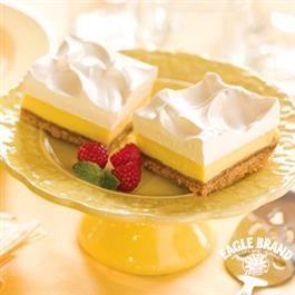 Frozen Lemon Squares Desserts Lemon Squares Recipe Frozen Lemon