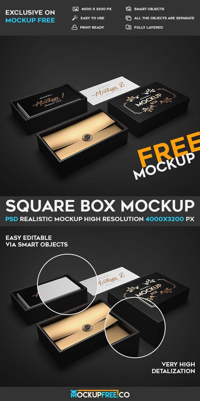Square Box Free Psd Mockup Download Mockup Free Psd Mockup Psd Mockup