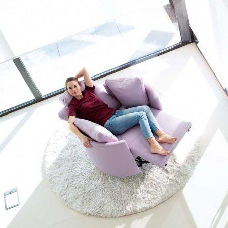 Fama Moonrise Chair Electric Recliner Rocker Swivel In 2020