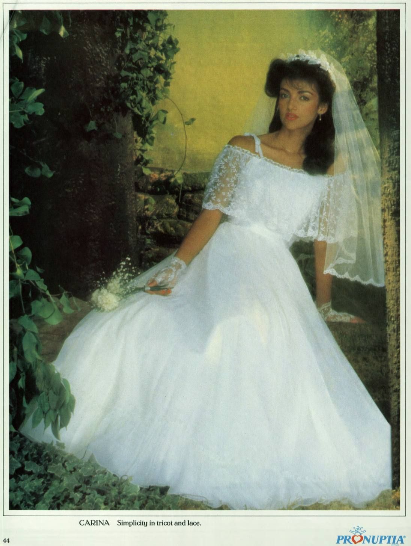 Pronuptia 1984 Fairytale Brides Beautiful Wedding Dresses Vintage Bride Bride [ 1453 x 1095 Pixel ]
