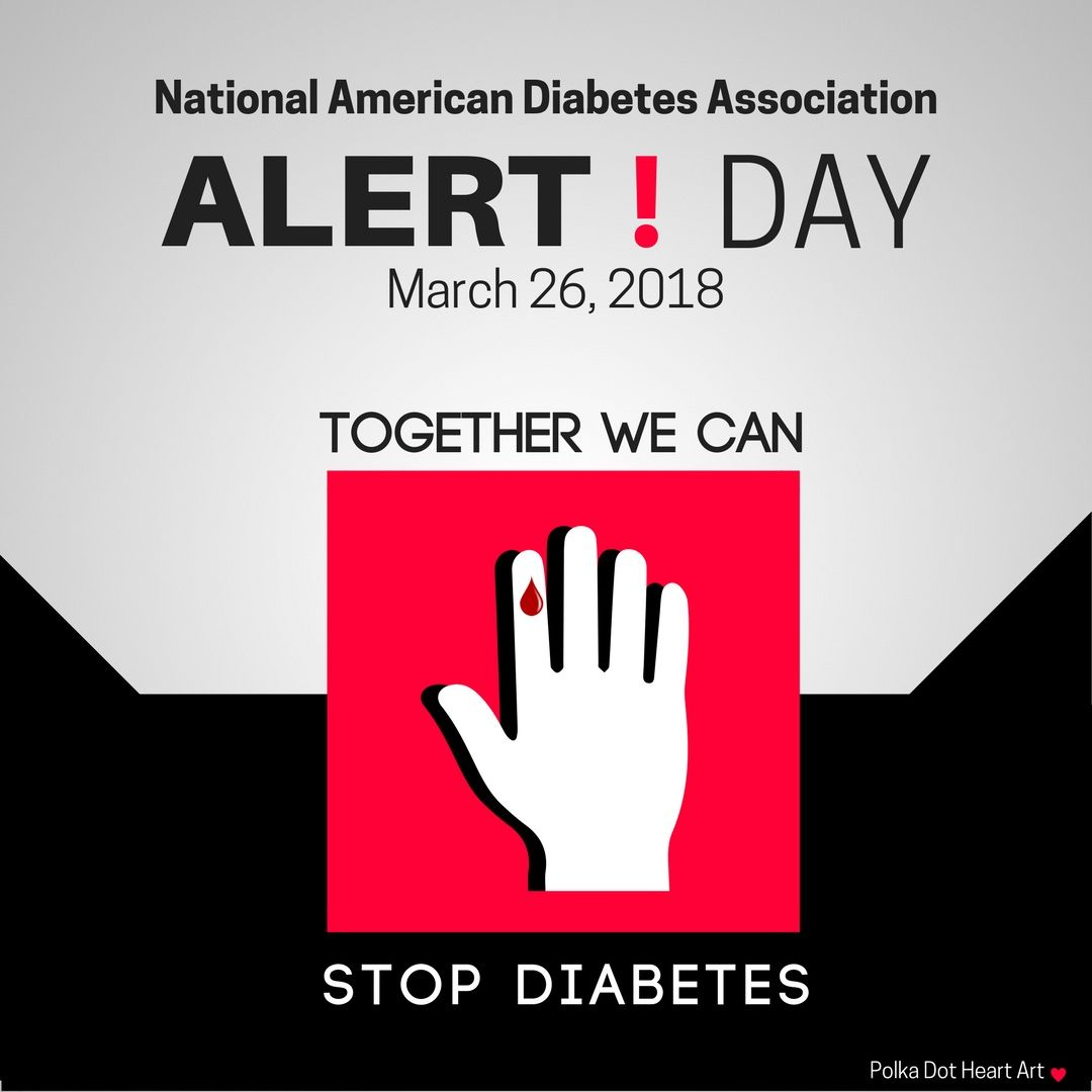 national american diabetes association alert day march 26 2018