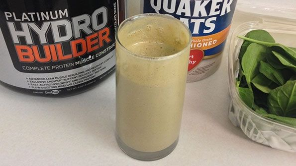 Get into shape with this awesome shake! Post Workout Bulk Shake #protein #healthy https://foodcount.com/recipe/post-workout-bulk-shake