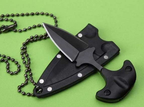 Pin By Dylan Taylor On Push Daggers Neck Knife Tactical