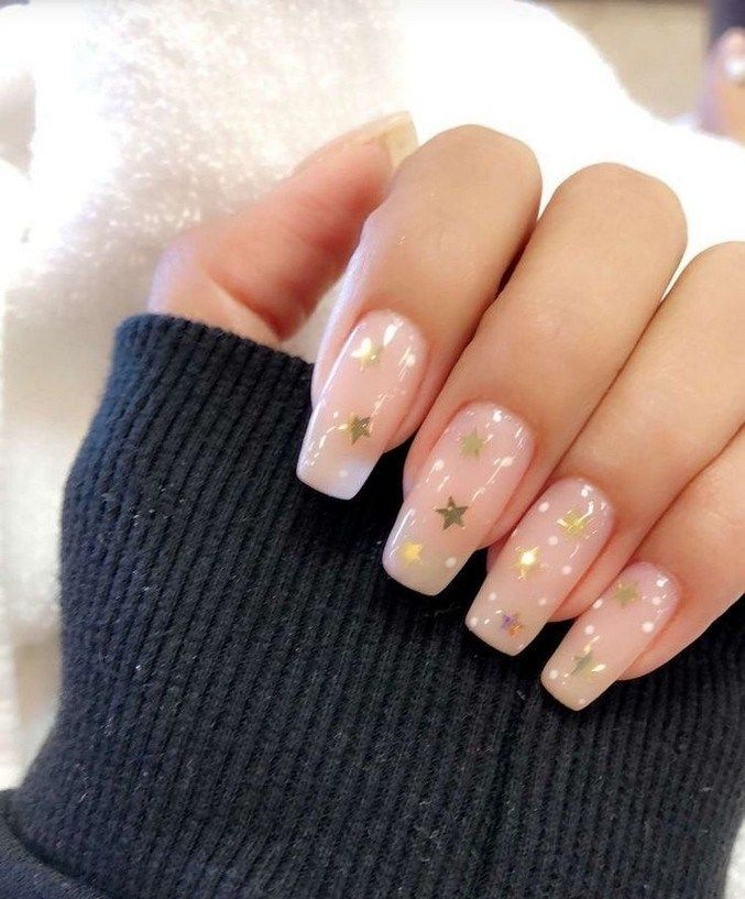 25+ awesome neutral nail art designs 2019 55