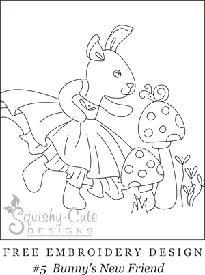 Free Printable Embroidery Patterns Hand Embroidery Designs Bunny