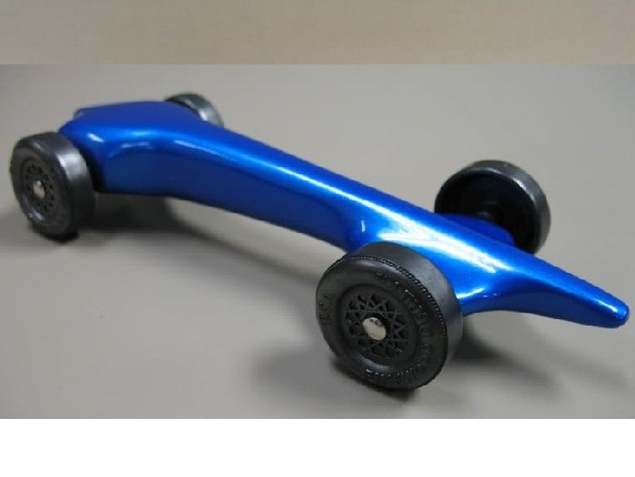 Fast pinewood derby cars send us your