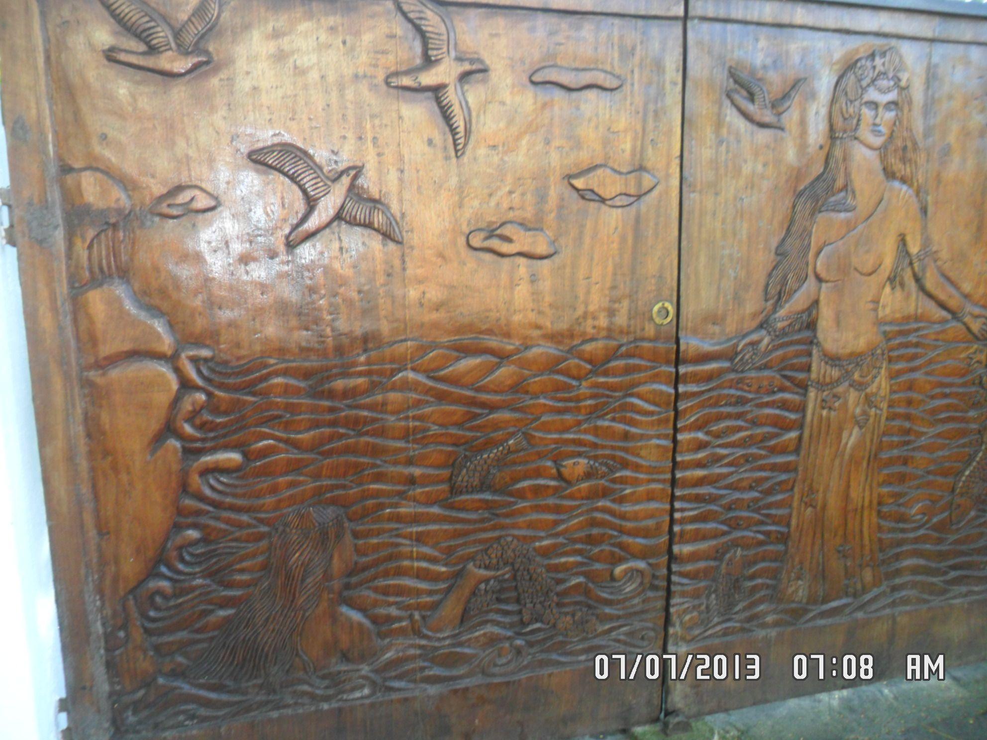 Puerta tallada , Buzios Brasil