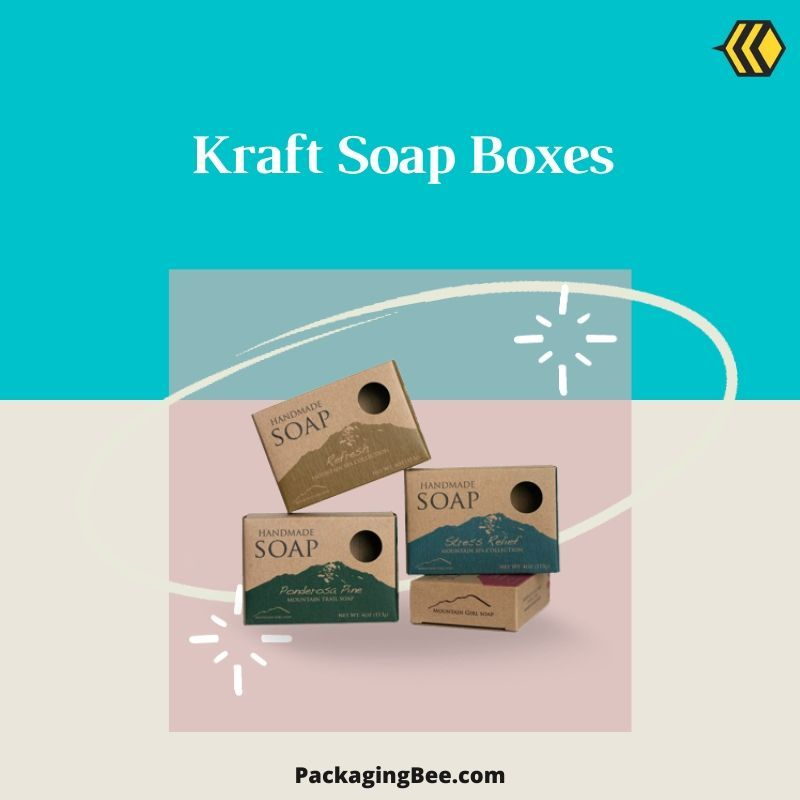 Kraft Soap Boxes In 2020 Soap Packaging Soap Boxes Soap Packaging Box