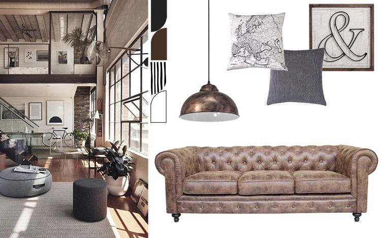 Idee per arredare il soggiorno Conforama Torino | ||| LEATHER ...