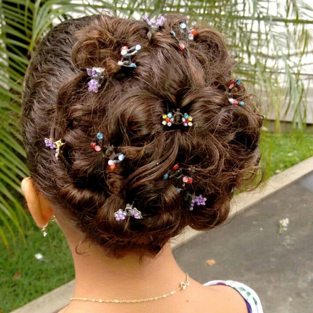 Penteado,lindo e fácil para  qualquer ocasião 😻