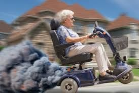 Image Result For Mobility Scooter Cartoon Images Grandma Funny