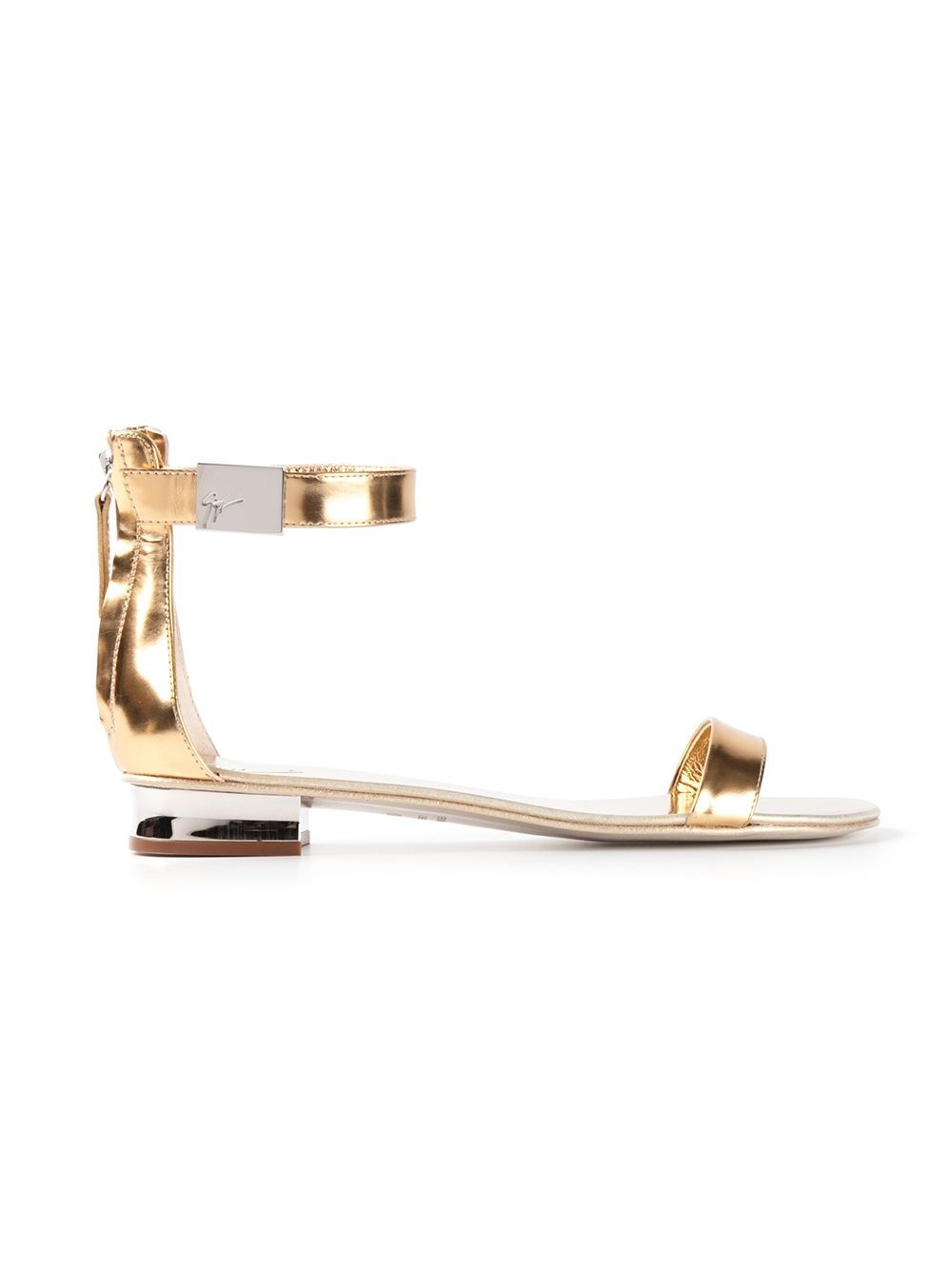 78ead0c97 Women's Metallic Sandal | Shoes | Metallic sandals, Sandals ...