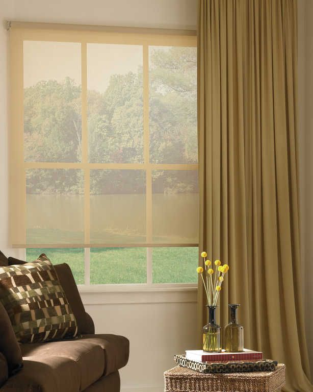 Roller Screen Shades Clean Modern And Perfect For Managing Light And Protecting Your Furnishings Blinds For Windows Blinds Design Home
