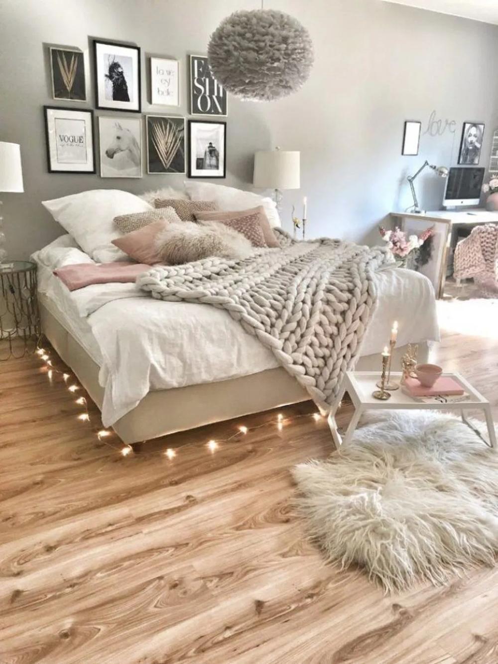 37 Five Elegant Rustic Bedroom Ideas That Will Give Your Rustic Bedroom 15 Bedroom Teenbedroom Room Ideas Bedroom Girl Bedroom Designs Bedroom Inspirations