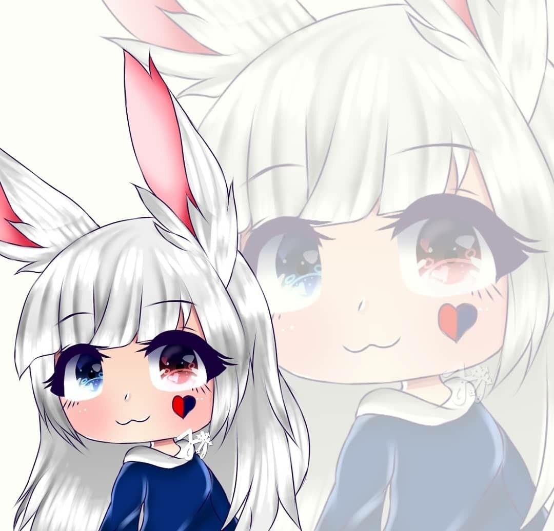 Gacha life edit anime wolf girl chibi drawings anime