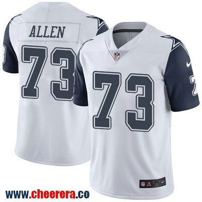 Men s Dallas Cowboys  73 Larry Allen White 2016 Color Rush Stitched NFL  Nike Limited Jersey c979ba668