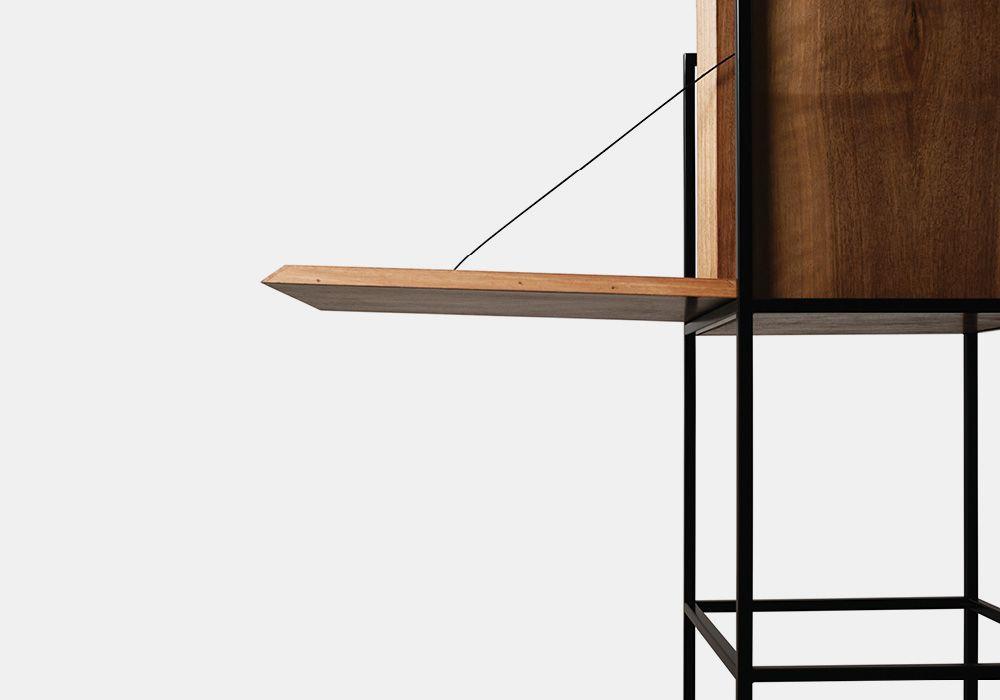 Metropolis la nuova collezione di mobili progettata da for Mobili firmati