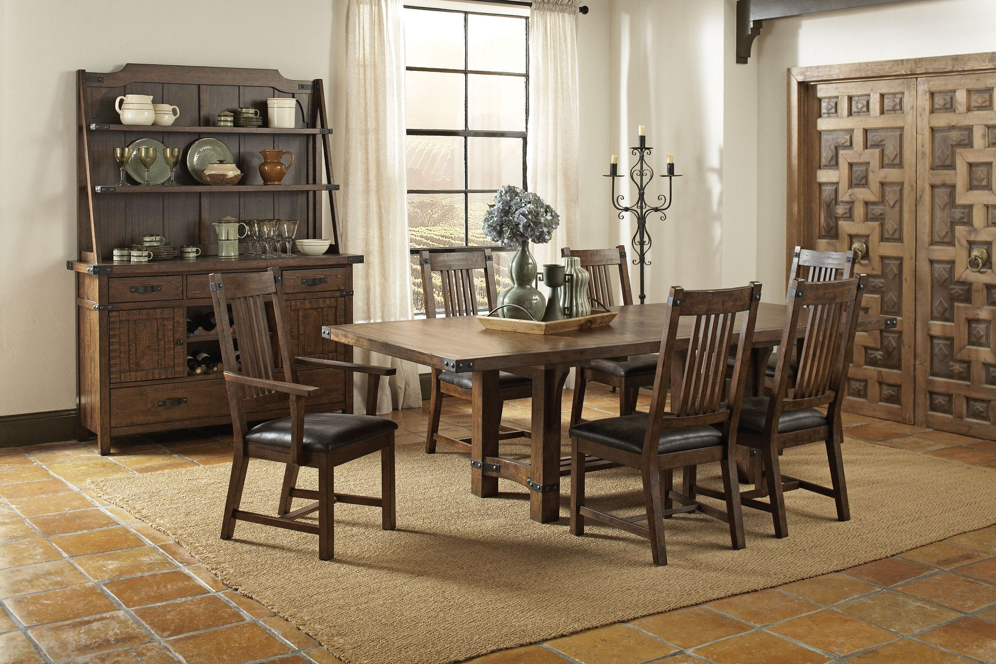 Server China Pbr Furniture In 2019 Dining Table In Kitchen
