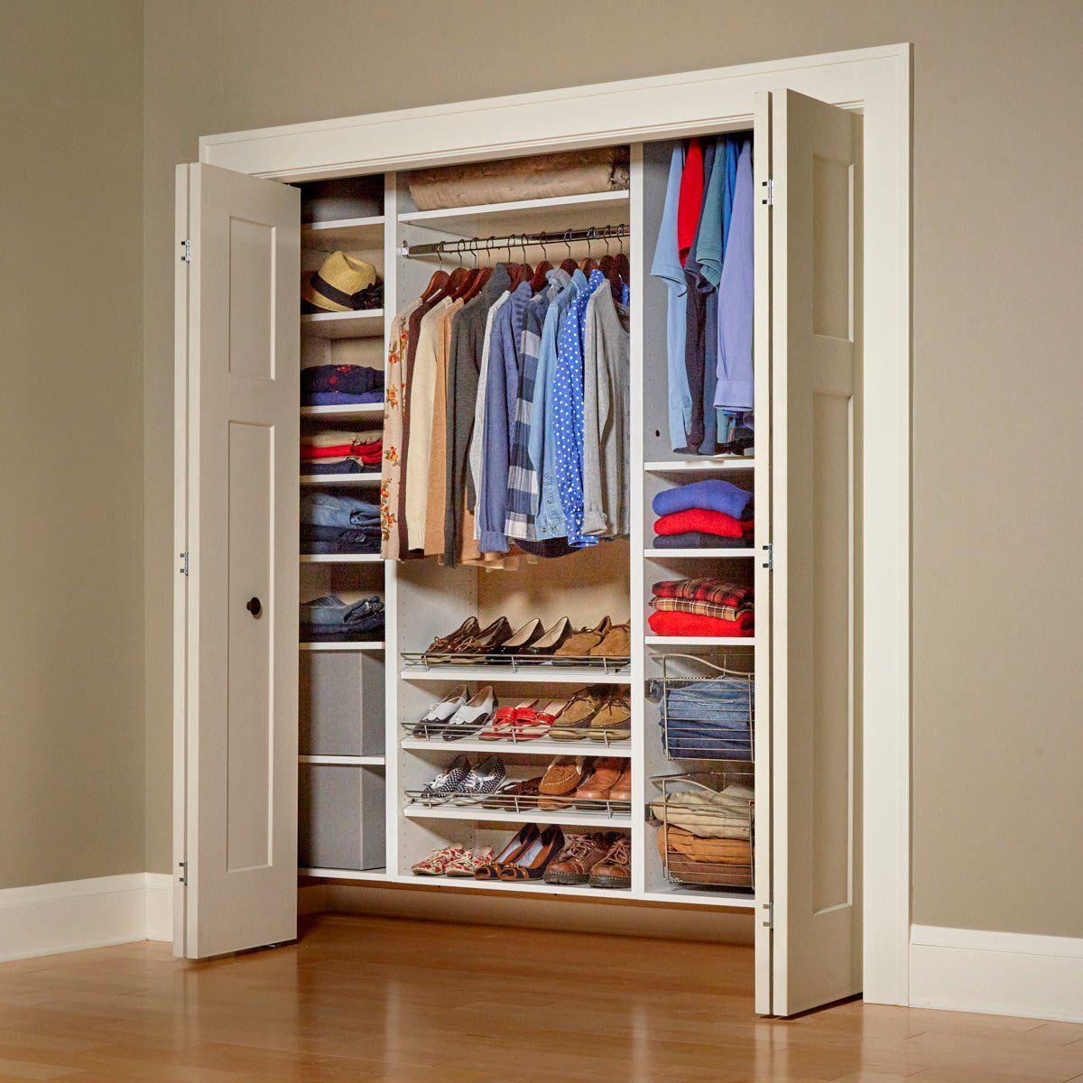 Build Your Own Melamine Closet Organizer Closet Built Ins Diy