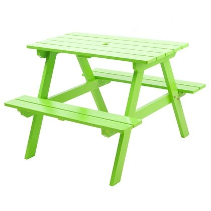 I Would Love To Paint A Picnic Table A Funky Color To Put