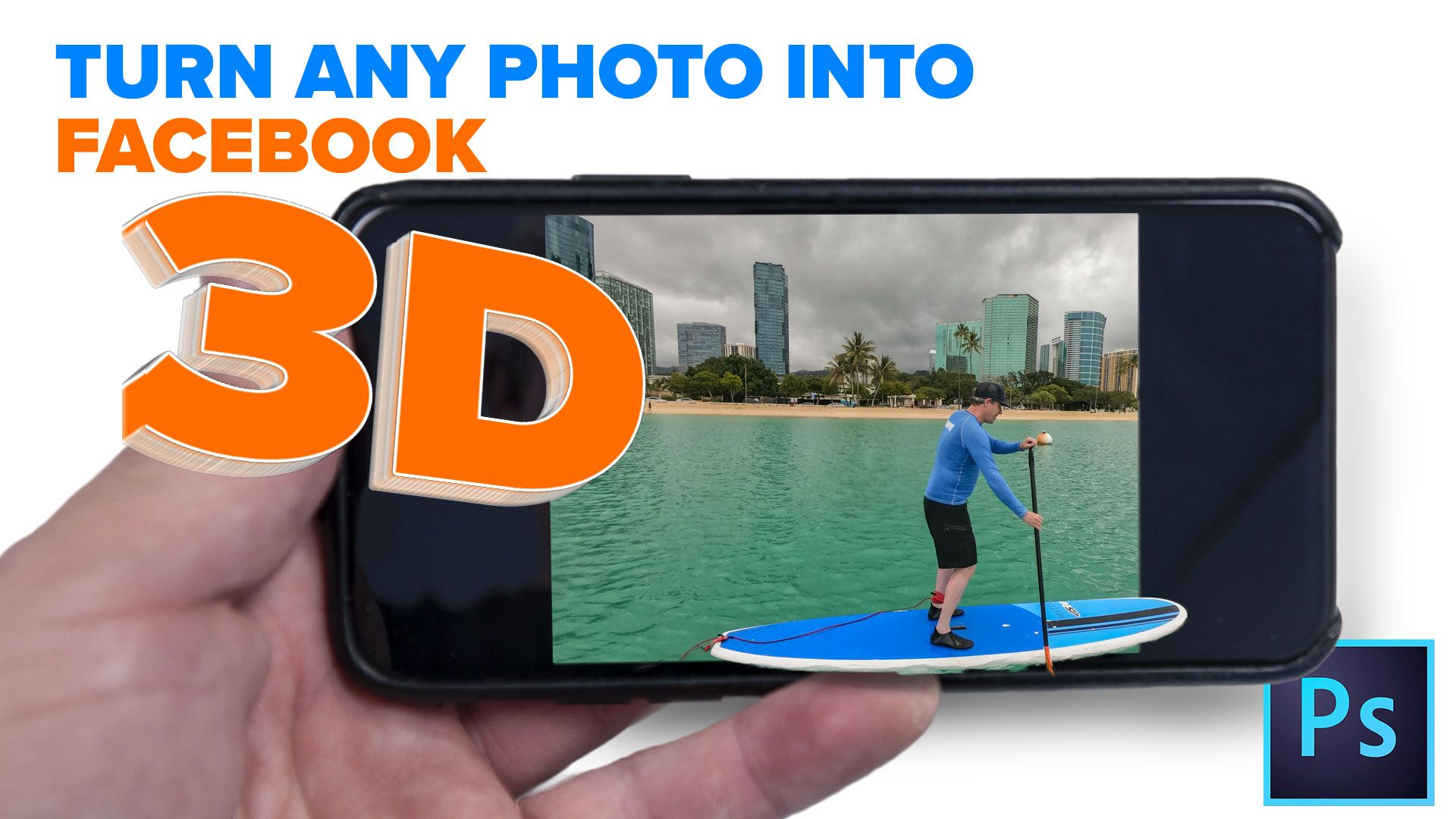 How To Turn Any Photo Into A Facebook 3d Photo In Photoshop Photoshop Youtube Basic Photoshop Tutorials Photoshop