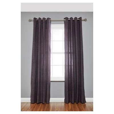 Loft By Umbra Cagio Curtain Rod 3 4 36 66 Matte Nickel Silver