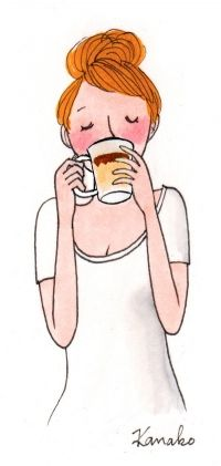 Totally Me In The Morning With Nescafe Memento Illustration Art