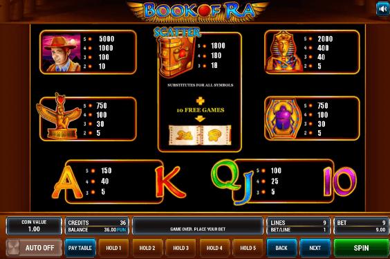 Бесплатно играть book of ra