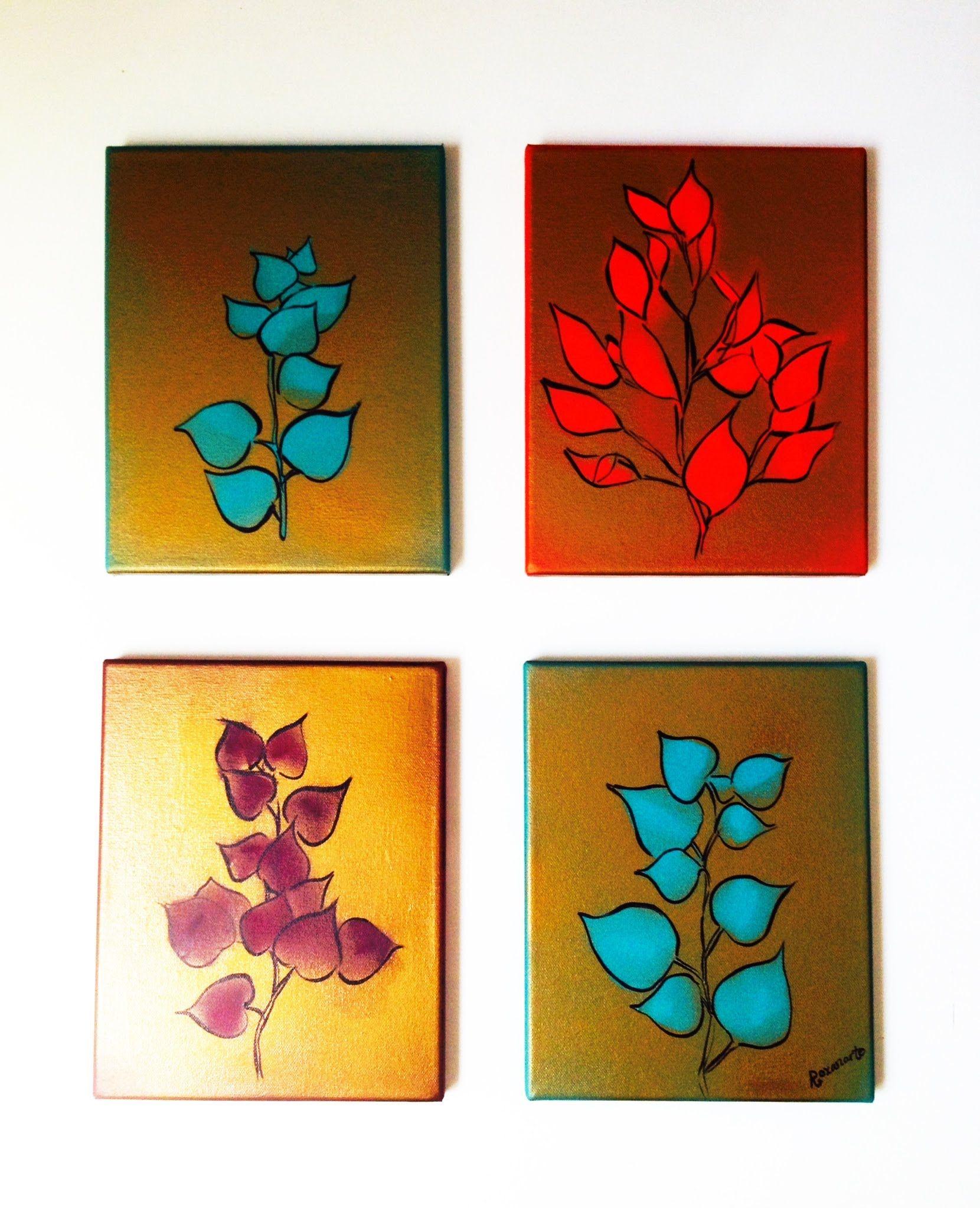 C mo hacer cuadros para decorar o regalar f cil y r pido - Manualidades para decorar el hogar ...