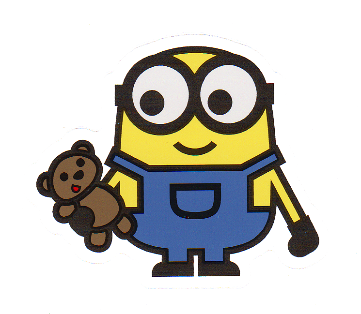 Minions Bob And Tim Sticker Car Family Decal