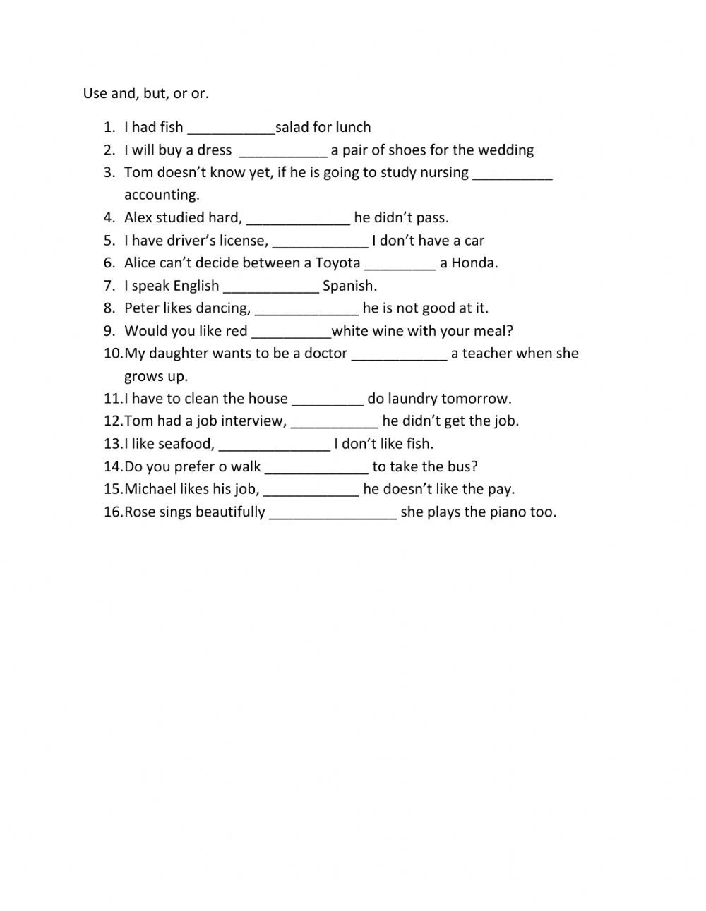 Linking Words Interactive And Downloadable Worksheet You Can Do The