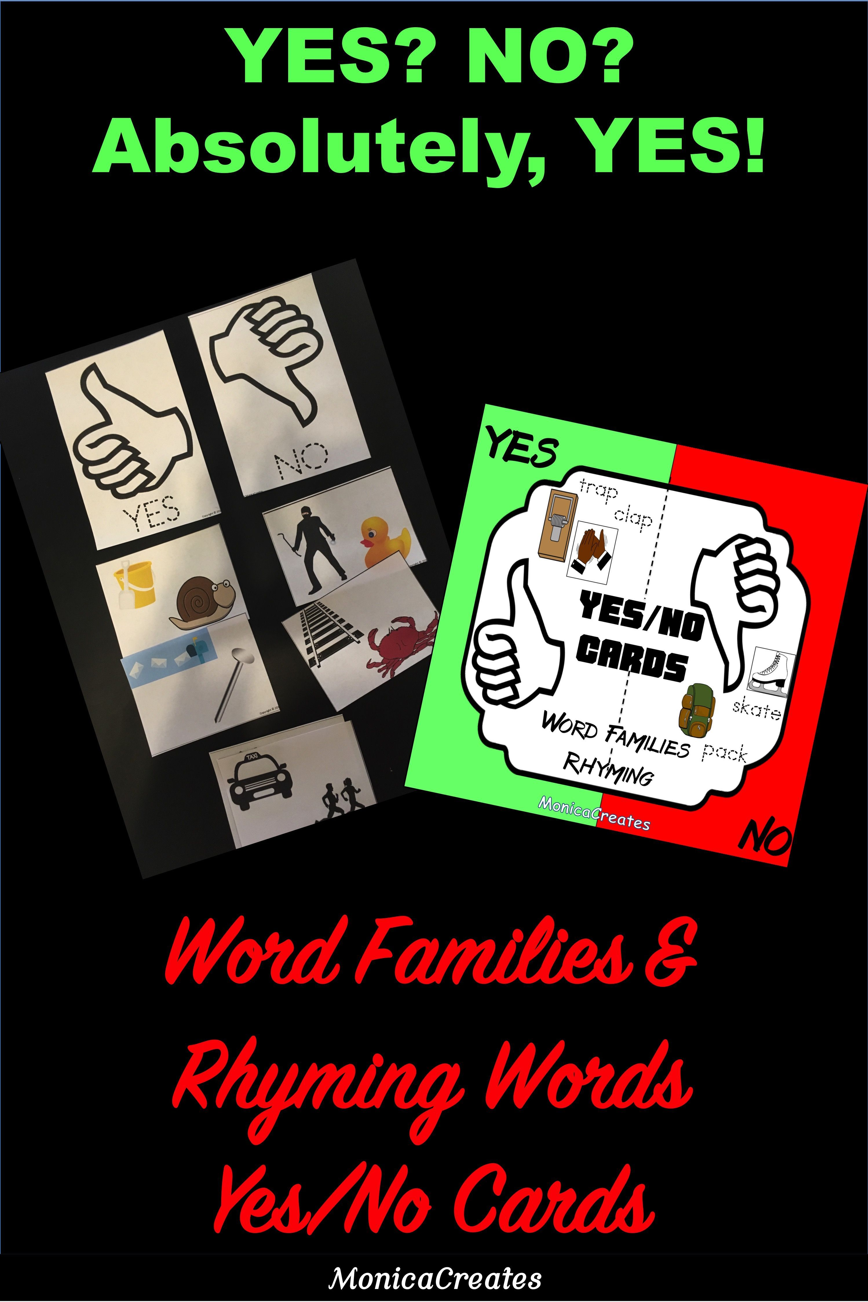 Vowel Word Families