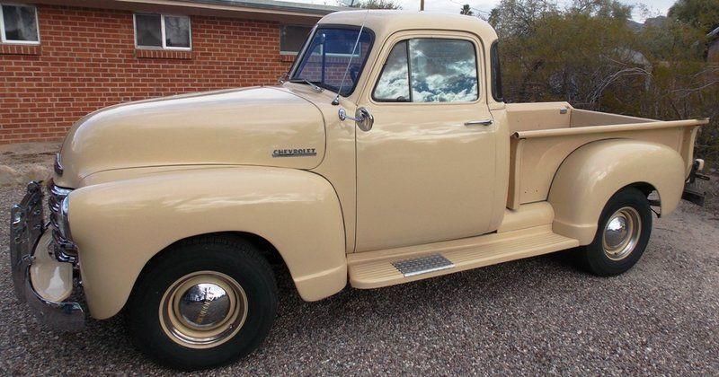 1952 Chevrolet Five Window Pickup Truck For Sale Tucson Az