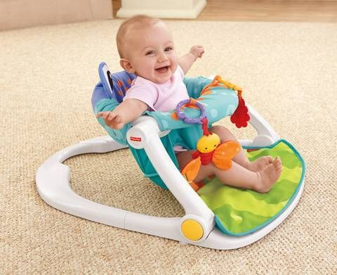 Fisher Price Sit Me Up Floor Seat Instead Of A Bumbo Chair