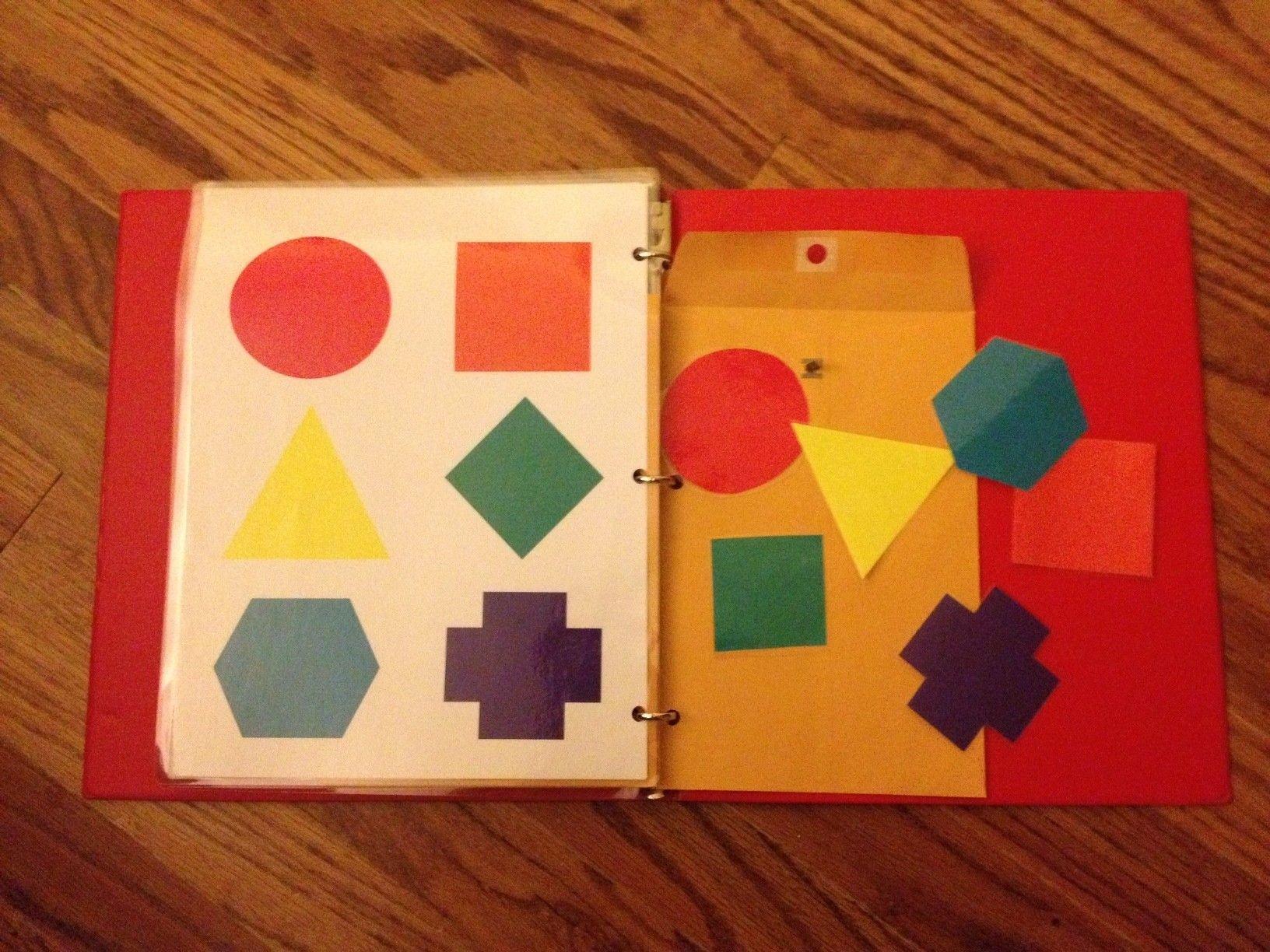 DIY folder activities... MicroSoft Word, creativity, binder, laminator (cheap one, Pinned separately!), velcro, envelopes, time... hours of fun?