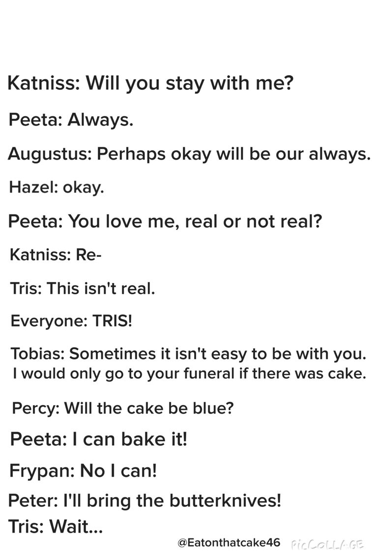Fandom quotes  The Hunger Games, The Fault in Our Stars