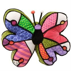 BRITTO BUTTERFLY PILLOW 4024922