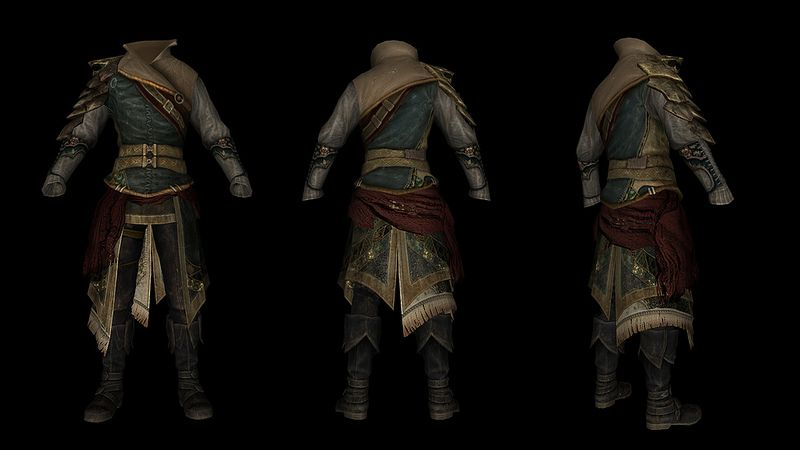 DreamBurrows Regal Huntsman Armor at Skyrim Nexus - mods and