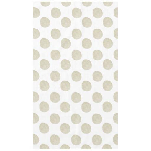 Gold Watercolor Dots tablecloth