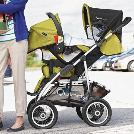 Quinny® Freestyle 4XL Travel System - loves that it comes in